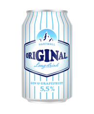Hartwall Original Light 330ml cans (case of 24)