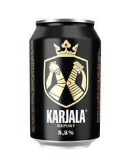 KARJALA Beer 5.2% 330ml cans (case of 24)