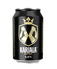 Karjala Beer 5.2% 330ml cans (case of 24)