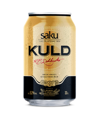 Saku Kuld Beer 5.2% 330ml cans (case of 24)
