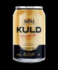Saku Kuld Beer 5.2% 330ml cans (case of 24)