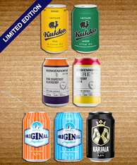 Finnish Tasting Pack No 2 330ml cans (case of 24)
