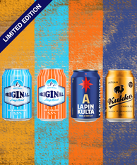 Finnish Tasting Pack 330ml cans (case of 24)