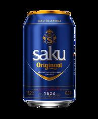 Saku Originaal Beer 5.2% 330ml cans (case of 24)