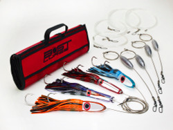Bost Lures Mirrored Wahoo Heavy Tackle Trolling Lure Pack