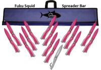 "FUKU SQUID BAR 36"" W/15 13"" SQUID"