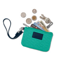 Pacsafe RFID-safe Womens V Series W50 RFID blocking coin and card purse