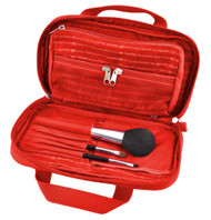 LaPoche Make me up bag, red