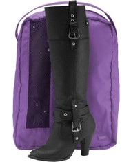 LaPoche purple boot bag