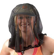 Equip treated mosquito head net