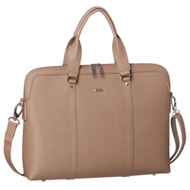 Morrissey business computer executive bag, TAUPE