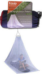 Equip treated mosquito net, single