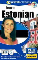 Estonian - Talk Now CD-ROM  language course (beginners)