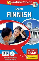 Finnish - World Talk CD-ROM  language course (intermediate)