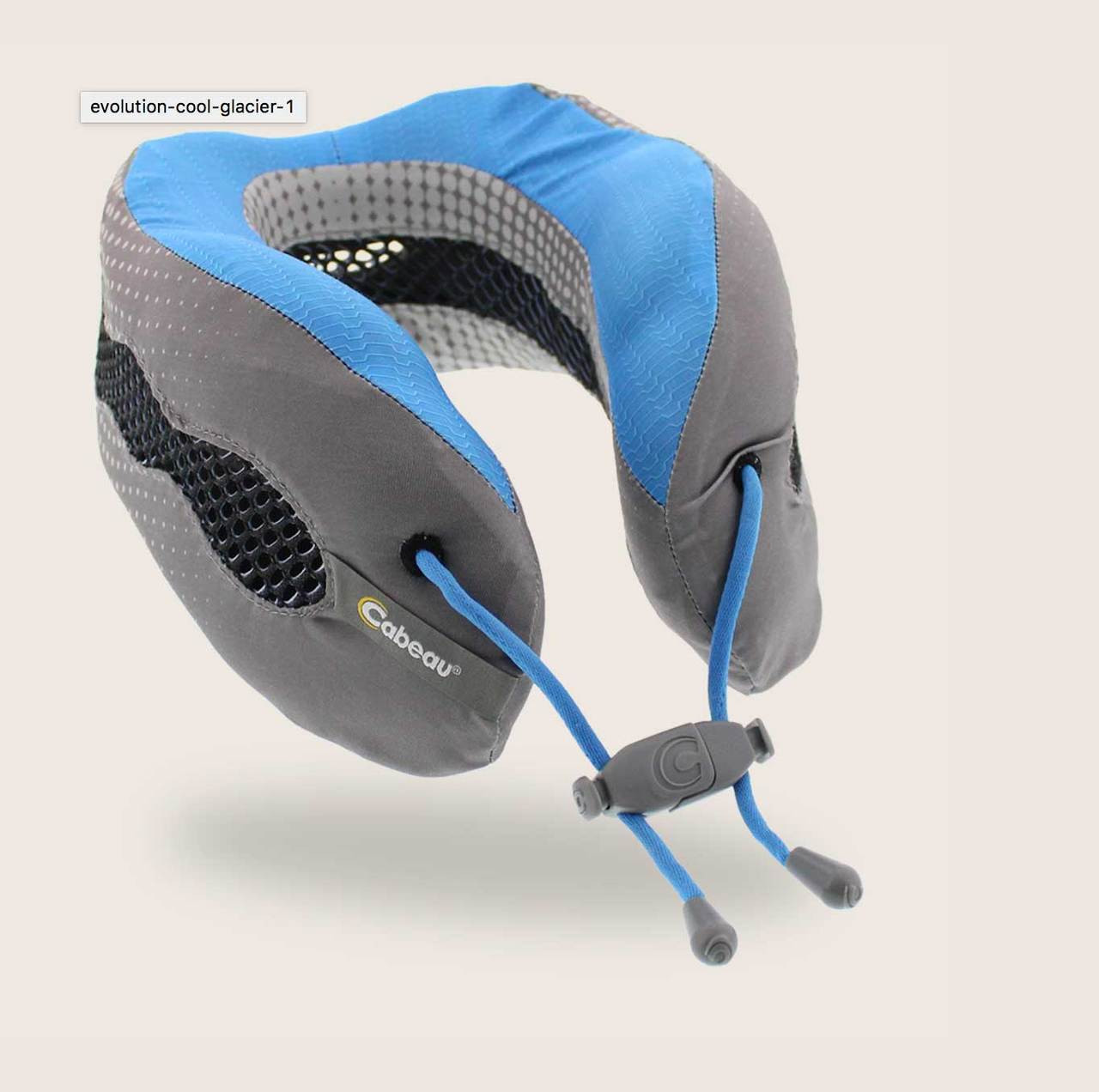 Evolution Memory Foam Travel Pillow Free Shipping In