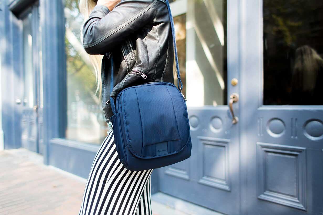 abc867fcf Pacsafe Metrosafe LS200 anti-theft travel shoulder bag at travelgear ...