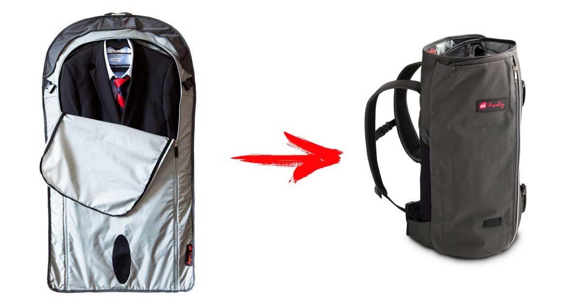 35969908b5 Henty Wingman garment backpack. Price   198.00. Image 1