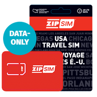ZIP SIM USA mobile broadband data-only SIM card
