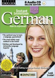 German - Instant Immersion Audio CD