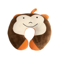 Globite Travel Buddy kids' neck pillow – monkey