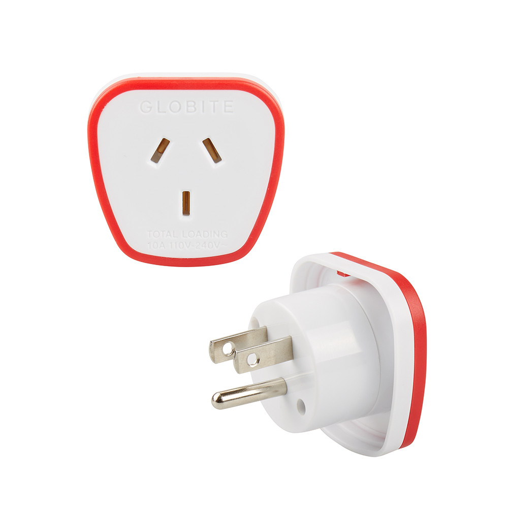 Globite Outbound Electrical Travel Adaptor At Australian Power Cords Plug And Plugs Australia Nz Usa Canada