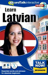 Latvian - Talk Now CD-ROM  language course (beginners)