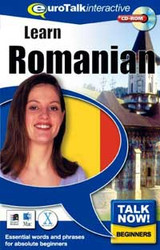 Romanian - Talk Now CD-ROM  language course (beginners)