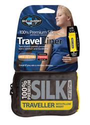 Sleep liner silk stretch