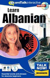 Albanian - Talk Now CD-ROM  language course (beginners)