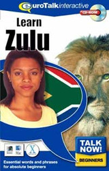 Zulu - Talk Now CD-ROM  language course (beginners)