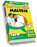 Maltese - Vocabulary Builder CD-ROM language course (ages 4-12)