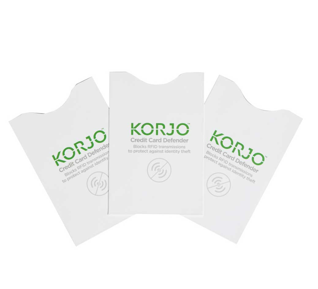 Protect your credit cards from rfid scanners with the korjo credit image 1 reheart Image collections
