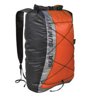Sea to Summit waterproof Ultra-Sil day pack (orange/red)
