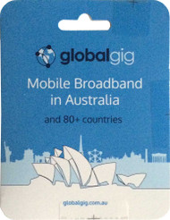 Globalgig international data SIM card