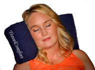 TravelComfort inflatable travel pillow