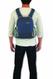 Pacsafe Venturesafe GII 10 L worn on back as daypack