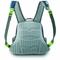 Shoulder straps when wearing bag on back
