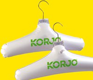 Korjo Inflatable Coat Hanger two pack
