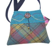 Harris Tweed Handbag (Turquoise)
