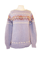 Ladies Merino/Mohair Roundneck