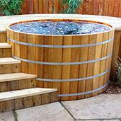 japanese cedar soaking tub. Cedar Hot Tubs Tub  Japanese Soaking Free Standing Bathtubs