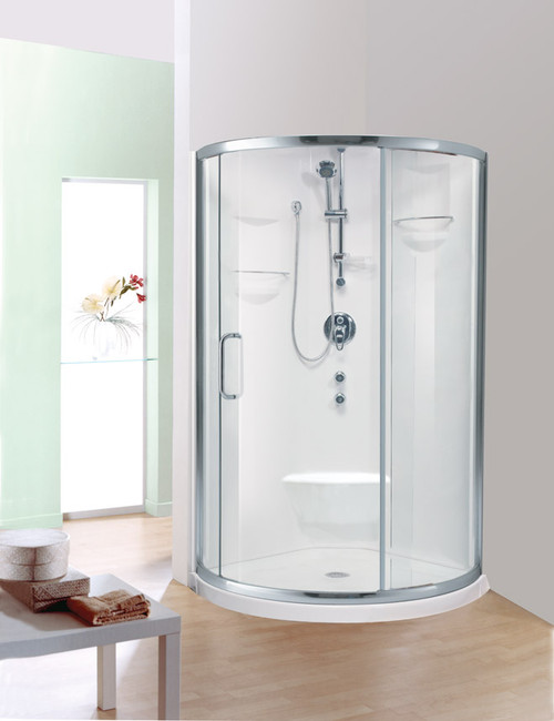 Alea Shower with lateral sliding door