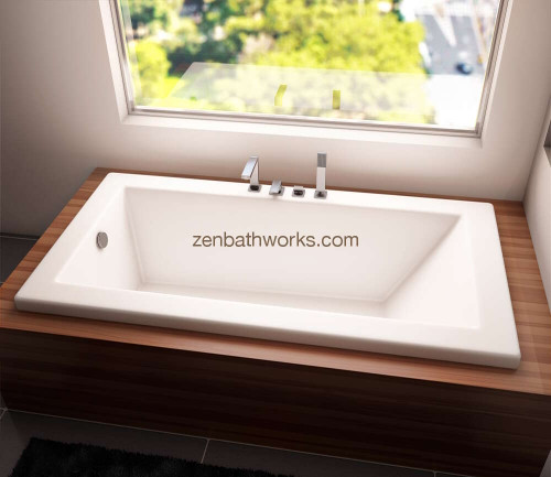 Zen bath soaking tub