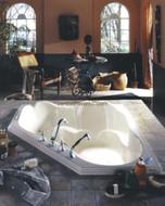 Orphee corner tub by Neptune