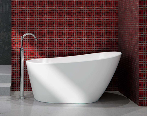 Malaga bathtub with Taron faucet