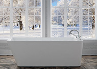 Lauzanne Bathtub with Taron faucet