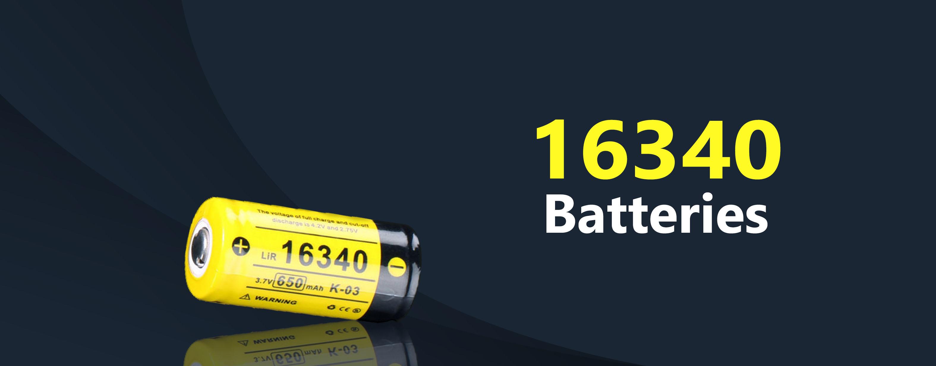 16340 Batteries