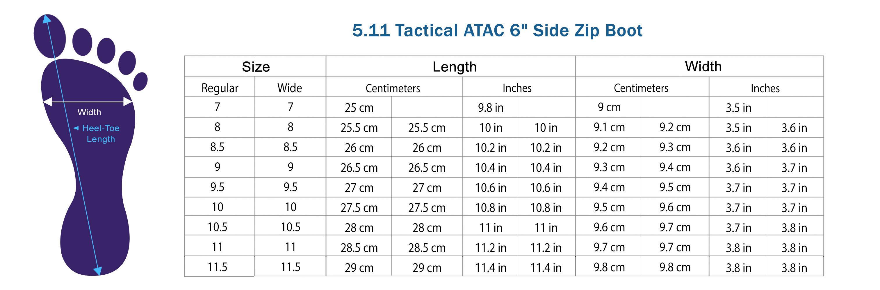 5 11 Tactical Atac 6 Quot Side Zip Boot Tactical Asia