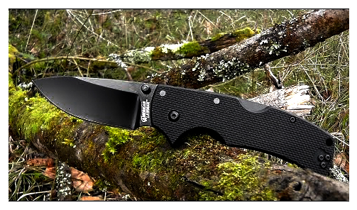 Cold Steel American Lawman Carpenter CTS XHP Alloy Folding Knife