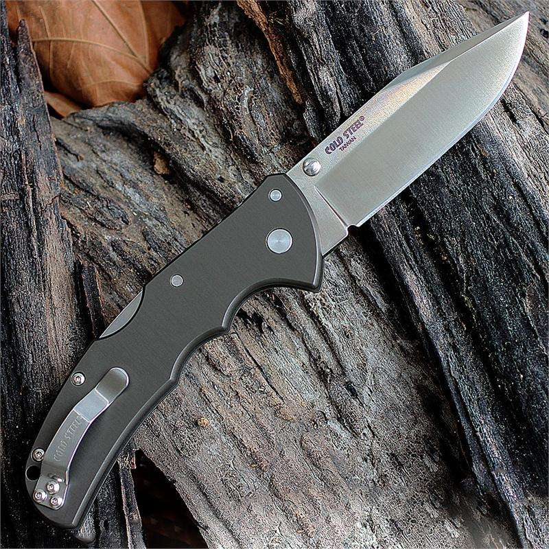 Cold Steel Code 4 Clip Point Plain Edge Carpenter CTS XHP Alloy Folding Knife